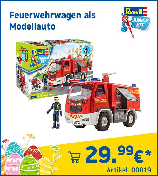 Revell Junior Kit Feuerwehrwagen als Modellauto 00819