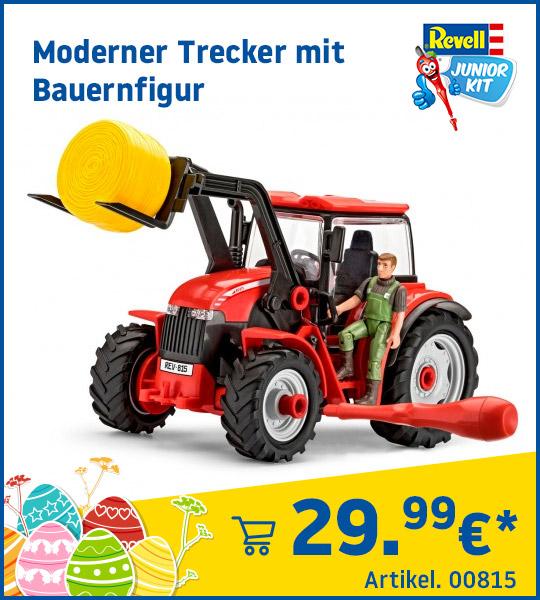 Revell Junior Kit Moderner Trecker mit Bauernfigur 00815