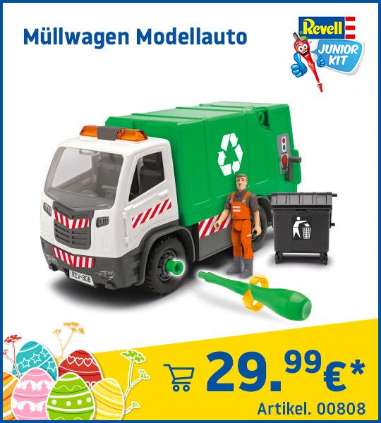 Revell Junior Kit Müllwagen Modellauto 00808