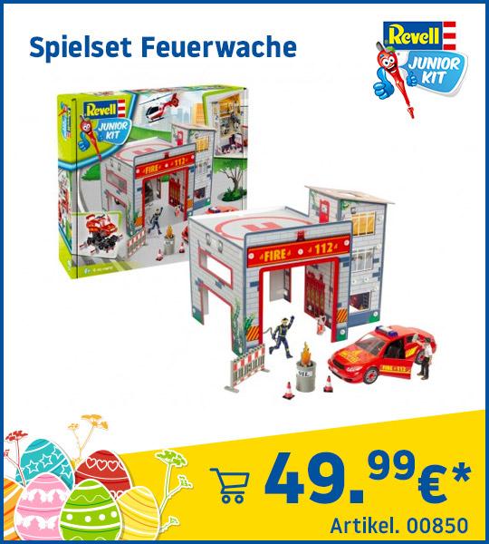 Revell Junior Kit Spielset Feuerwache 00850