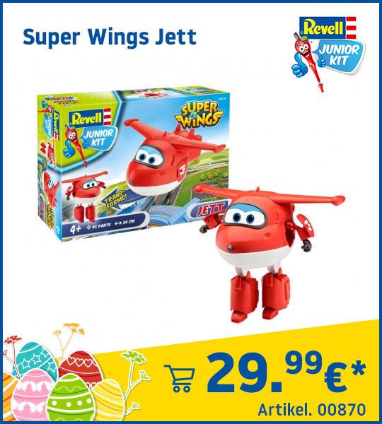 Revell Junior Kit Super Wings Jett 00870