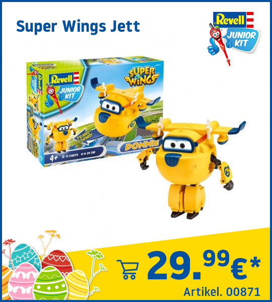 Revell Junior Kit Super Wings Donnie 00870